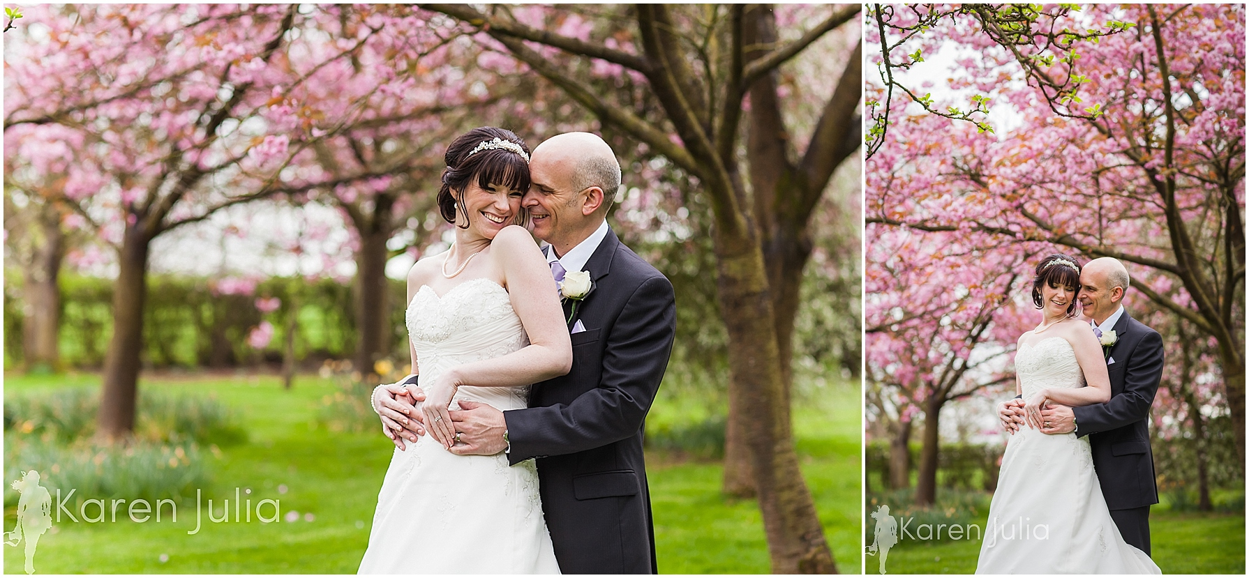 Mere Court Springtime Wedding Photography