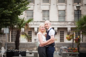 Manchester City Centre Engagement Shoot