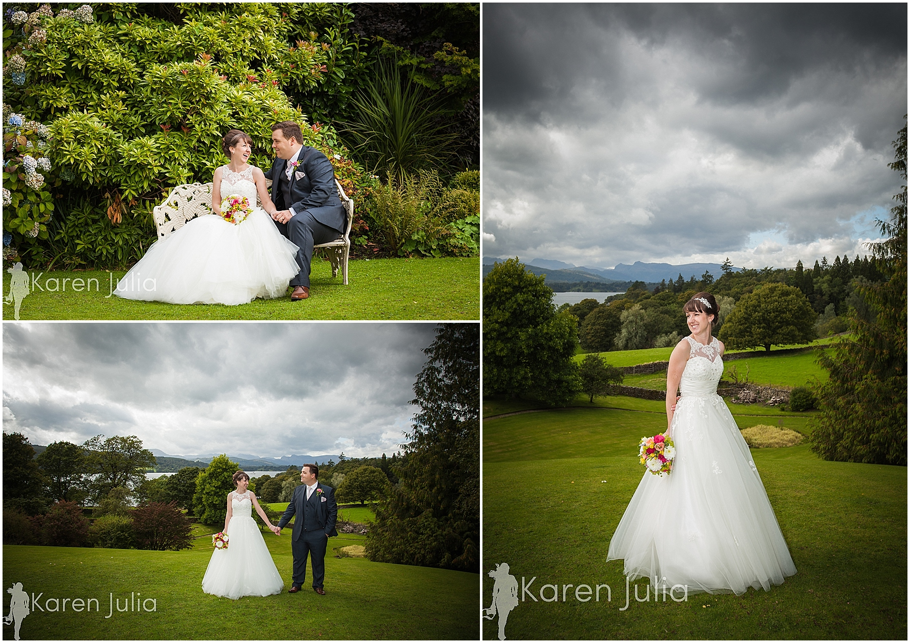 Miller Howe Hotel Summer Wedding Photography