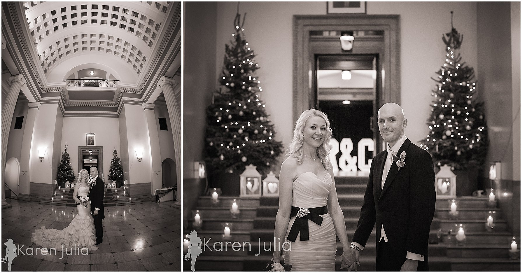 bride & groom portraits manchester hall