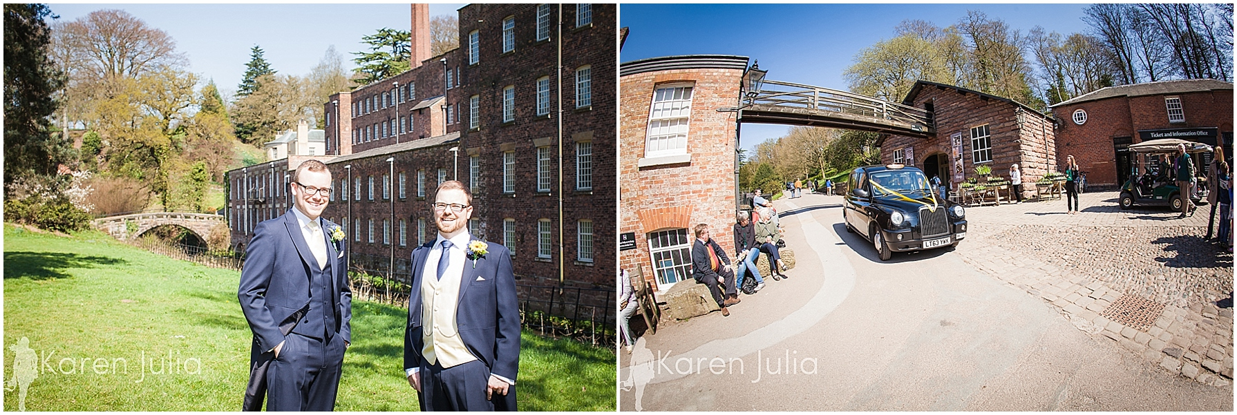 groom portraits quarry bank mill