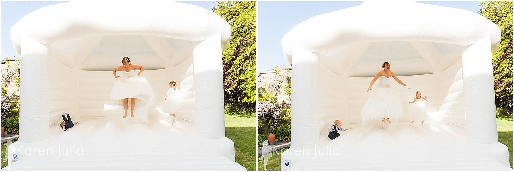 bouncy castle at spring house hotel