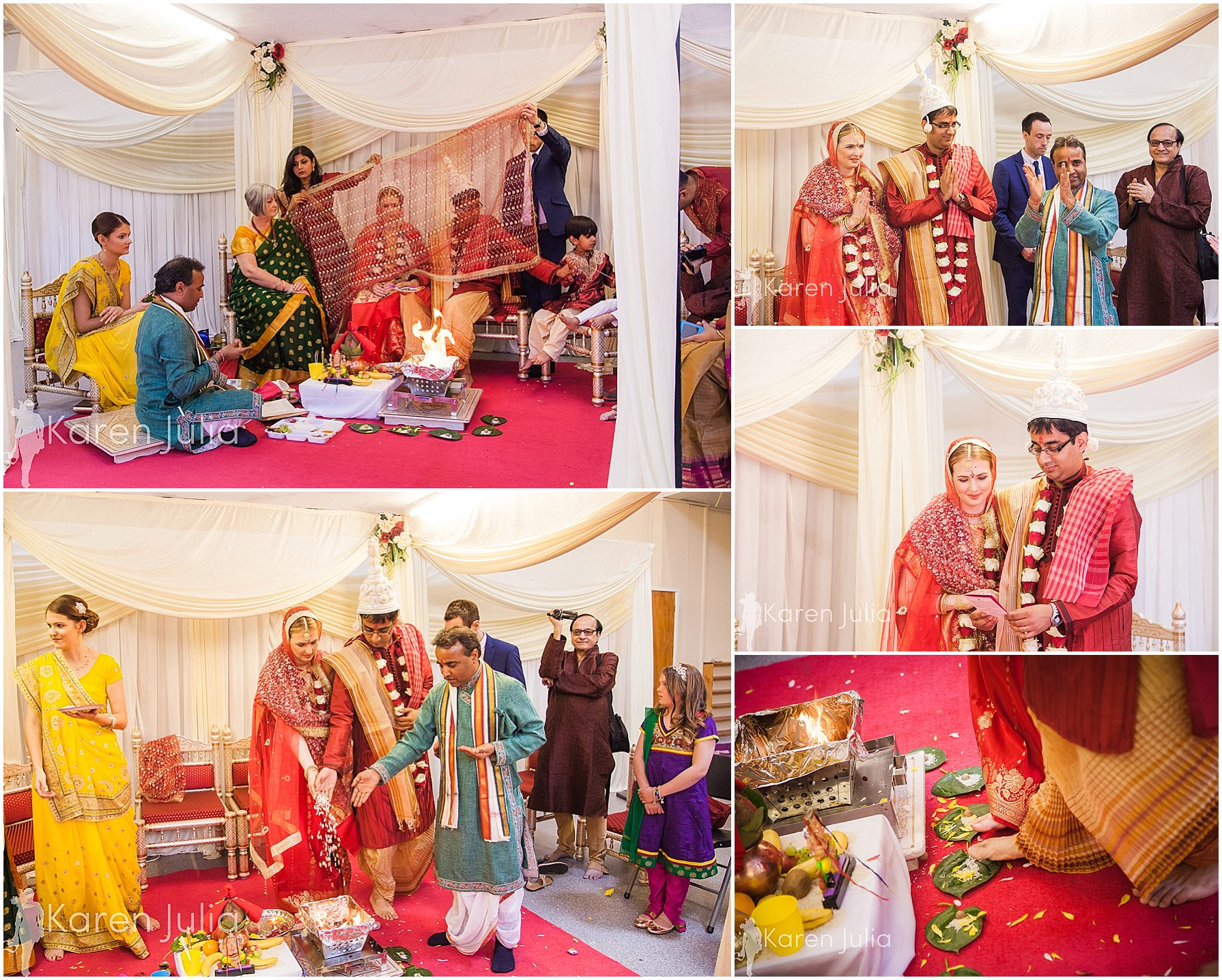wedding ceremony gita bhavan hindu temple