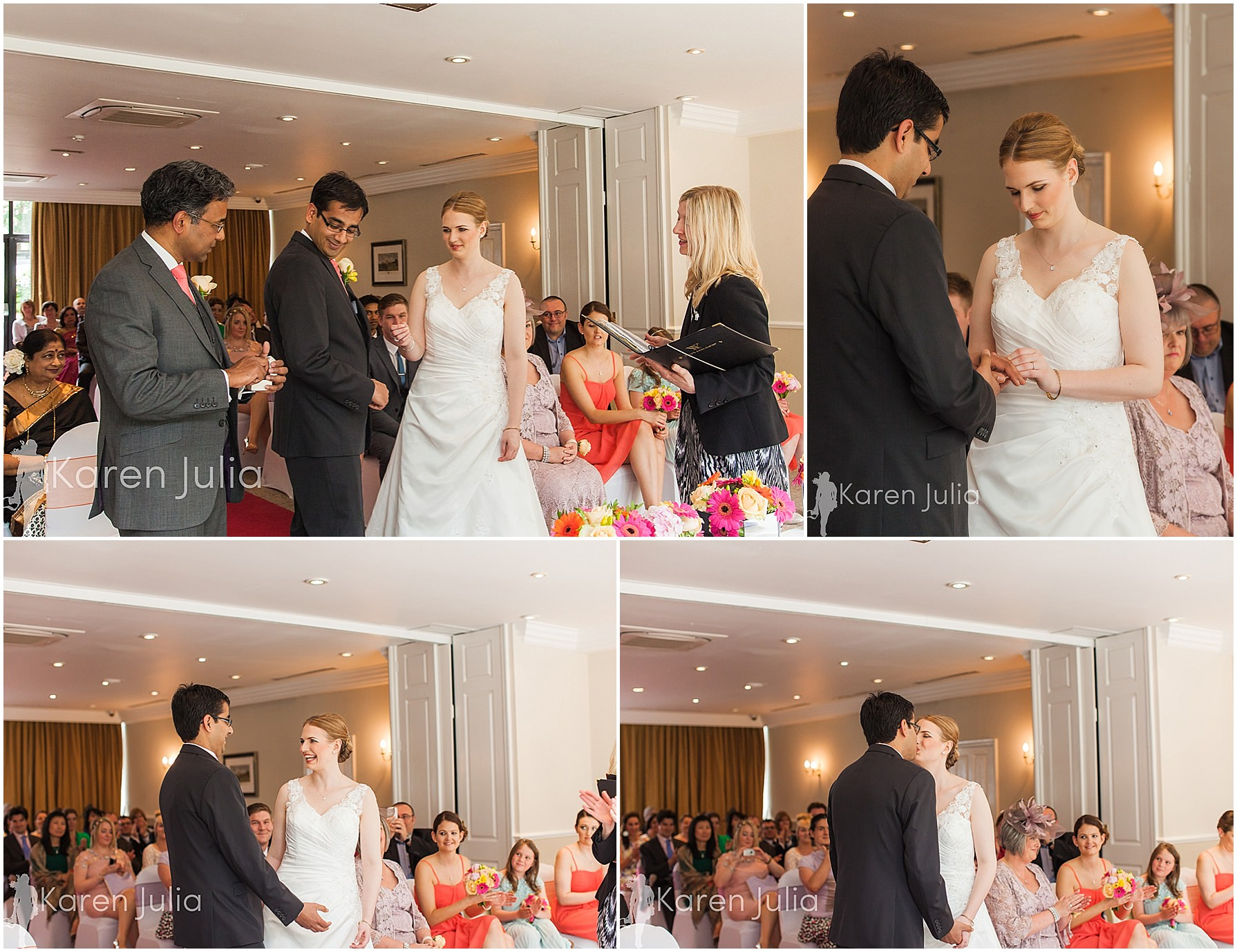 wedding ceremony pinewood hotel