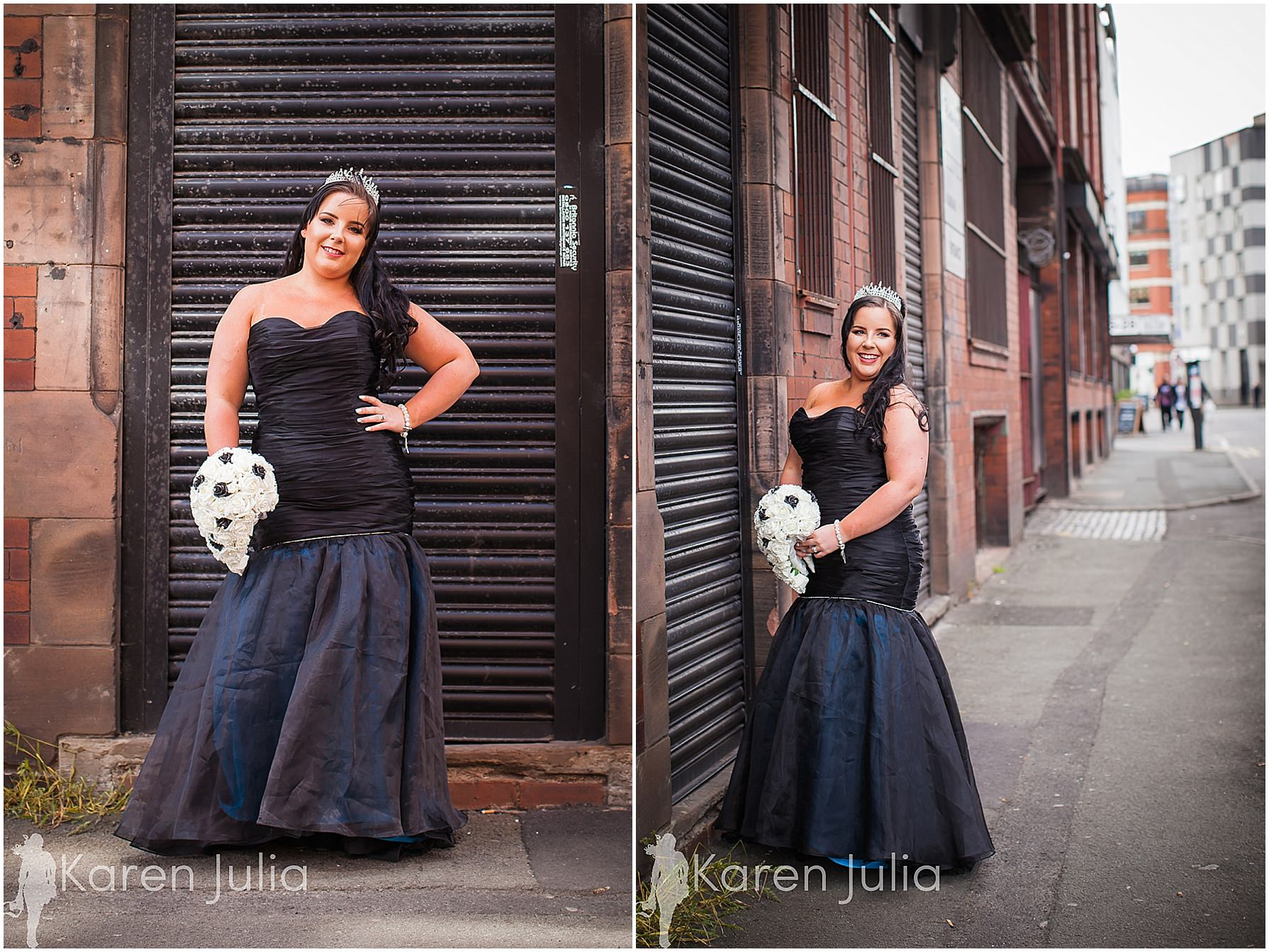 bride portraits manchester northern quarter