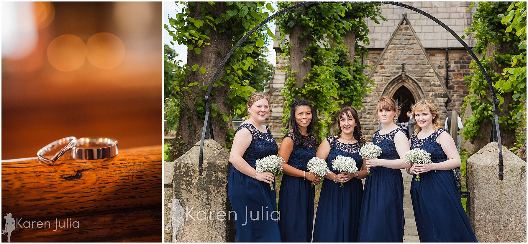 Cheshire Wedding Photography Smallwood bridesmaids photo