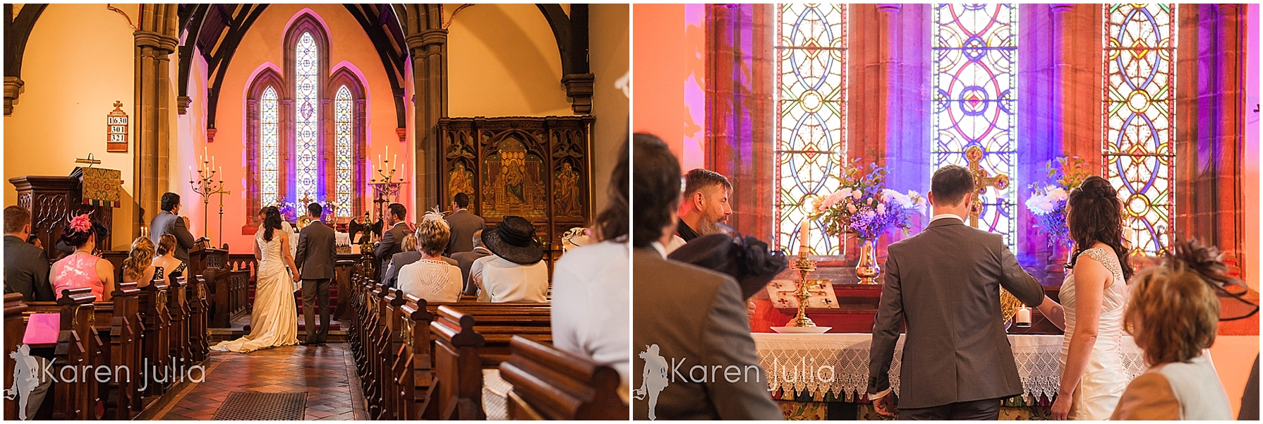 Cheshire Wedding Photography Smallwood church ceremony