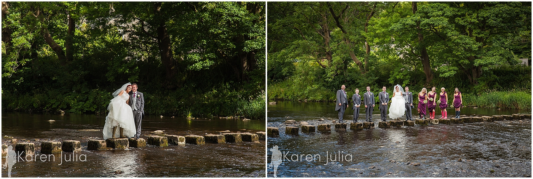 stepping stones portraits river hodder