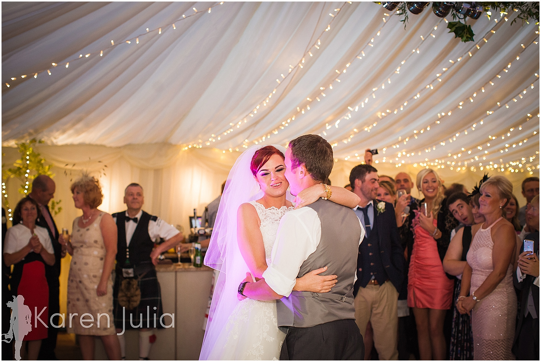 The Inn at Whitewell Wedding Photography first dance